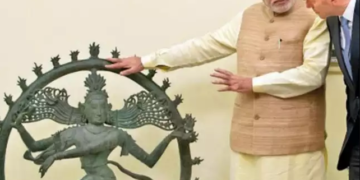 artifacts, stolen, modi government