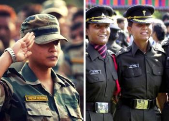 indian army, women officers