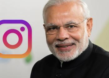 pm modi, instagram, social media