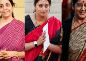 sushma swaraj, smriti irani, nirmala sitharaman