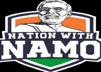 Nation with Namo, media