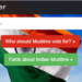 Muslim voters, website
