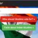 Muslim voters, website