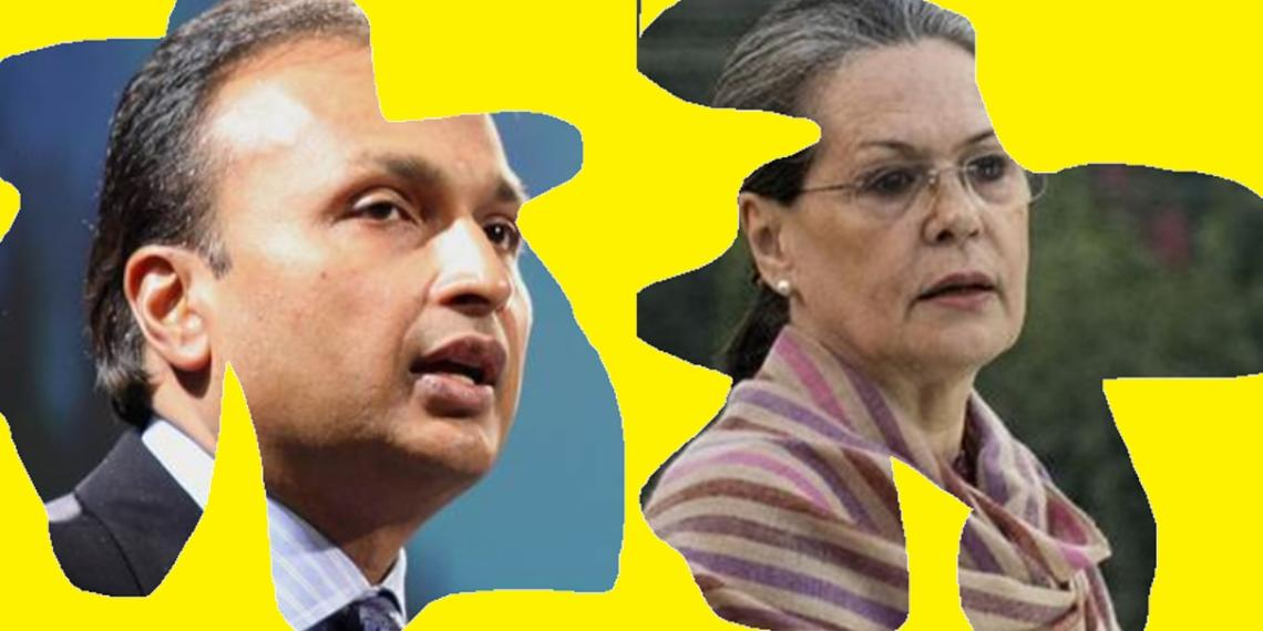 Anil Ambani-led Reliance Group was awarded projects of over Rs 1,00,000 crore during UPA