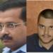 Kejriwal, AAP candidate