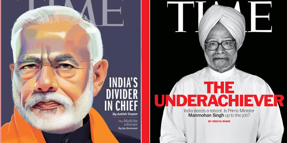 Time Magazine, BJP
