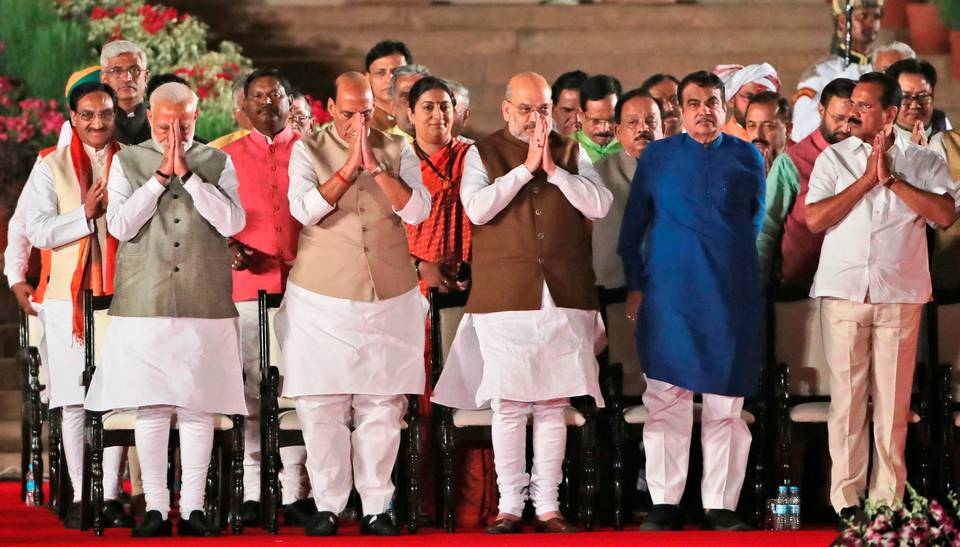 council of ministers, states, NDA