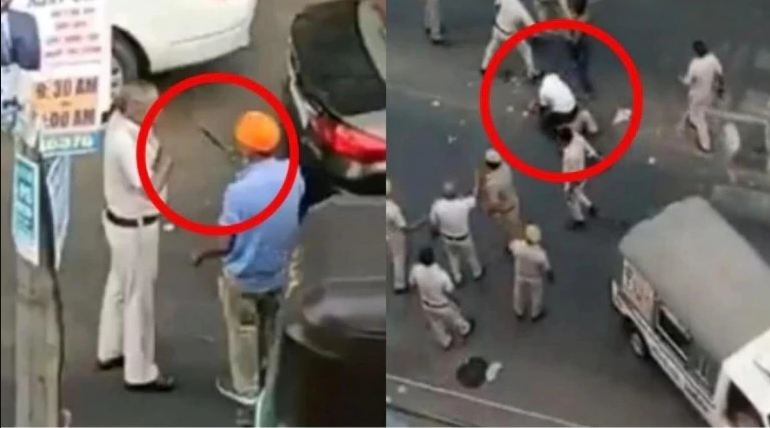 sikhs, police