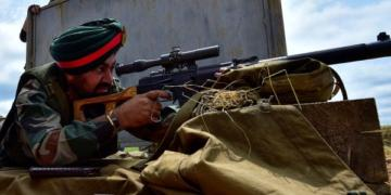 Indian Army, Sniper, Rifles
