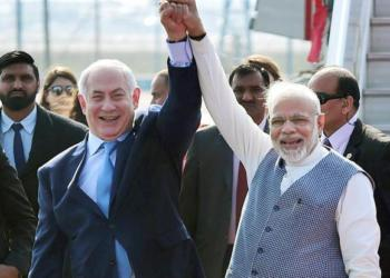 Palestine, Modi government