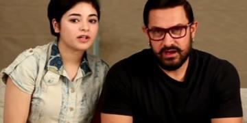 Aamir Khan, Zaira, Bollywood