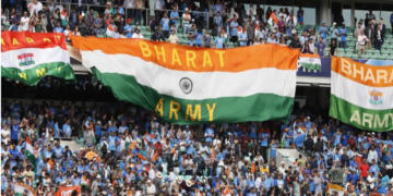 Bharat Army, indian, cricket, fans