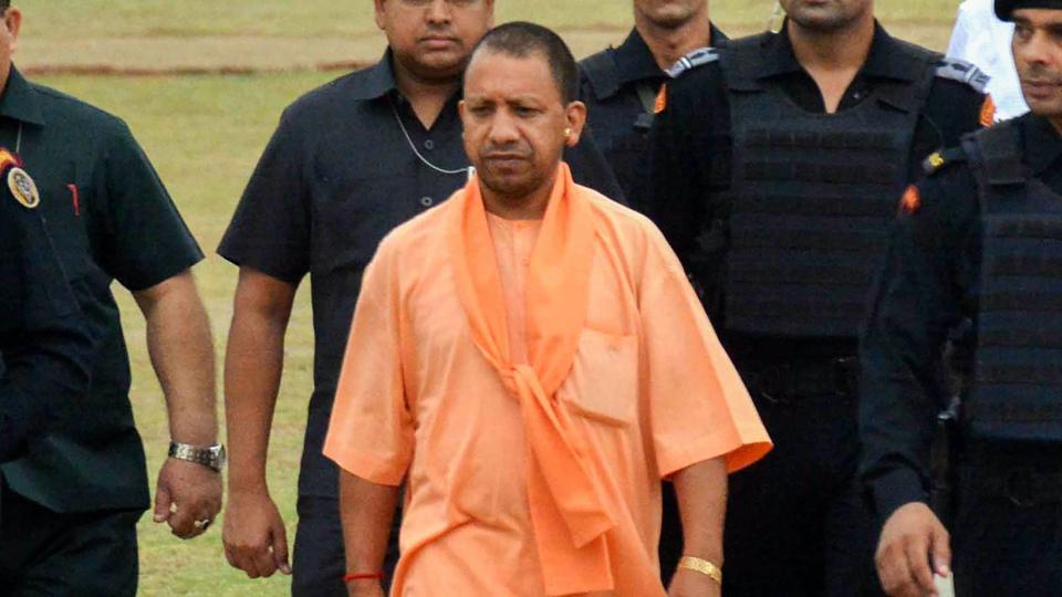 cm yogi, government, officials