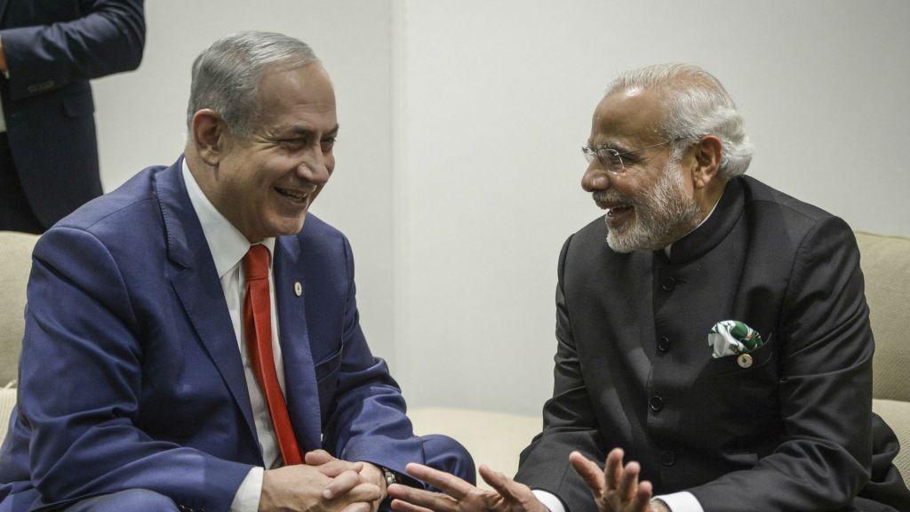 इज़राइल भारत मोदी
