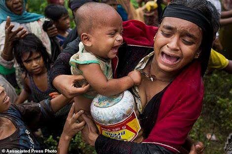 रोहिंग्या, आईएसआईएस, शरणार्थी