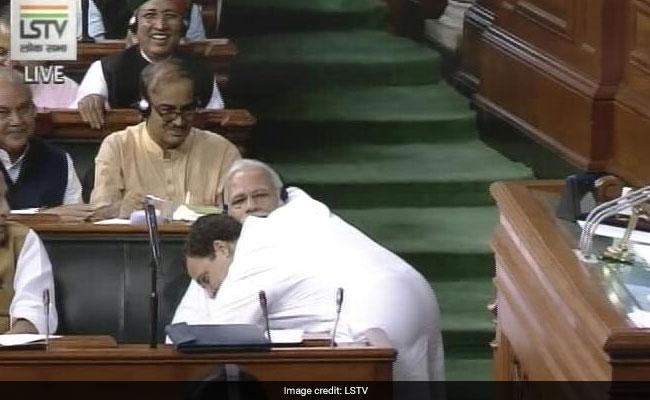 राहुल गांधी अविश्वास प्रस्ताव