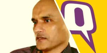 क्विंट पाकिस्तान भारतीय मीडिया कुलभूषण जाधव