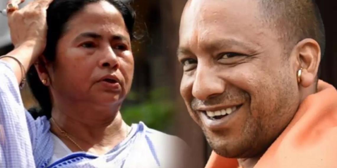 योगी आदित्यनाथ ममता पश्चिम बंगाल