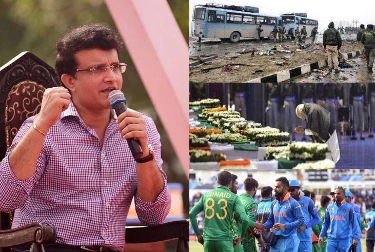 सौरव गांगुली पाकिस्तान क्रिकेट