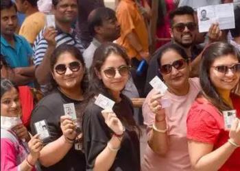 दिल्ली मतदान